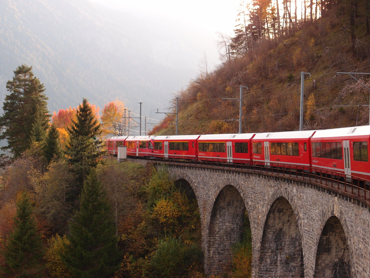 Albula Line between Filisur and Thusis